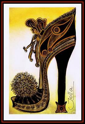 High Heel Heaven Poster by Jolanta Anna Karolska