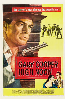 High Noon - 1952 Poster by Georgia Fowler