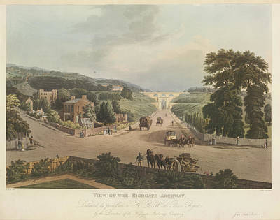 Highgate Archway Poster by British Library