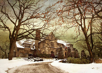 Hilltop Holiday Home Poster by Jessica Jenney