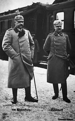 Hindenburg & Ludendorff Poster by Granger