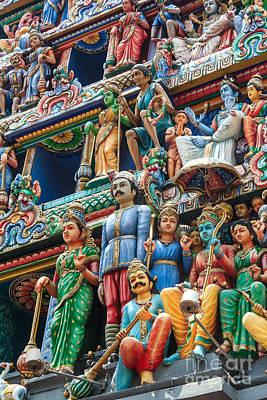 Hindu Goddess Poster by Niphon Chanthana