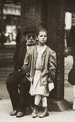 Hine Beggars, 1910 Poster by Granger