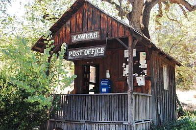 Historic Post Office Poster by Lyn Trask