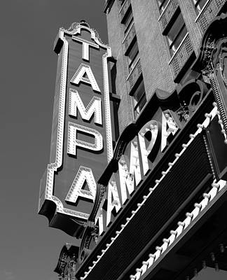 Historic Tampa Poster by David Lee Thompson