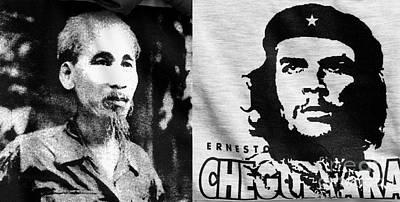 Ho Chi Minh And Che Guevara Poster by Rick Piper Photography