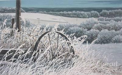 Hoar Frost  Poster by Gordon J Weber