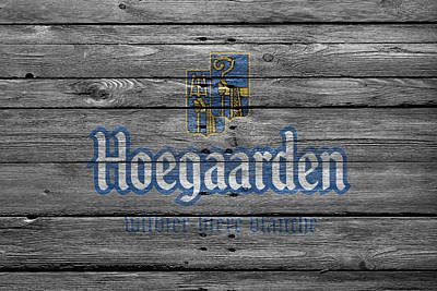 Hoegaarden Poster by Joe Hamilton