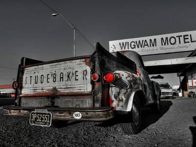 Holbrook Az - Wigwam Motel 006 Poster by Lance Vaughn