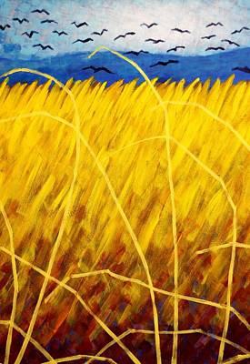 Homage To Van Gogh   Cropped Poster by John  Nolan