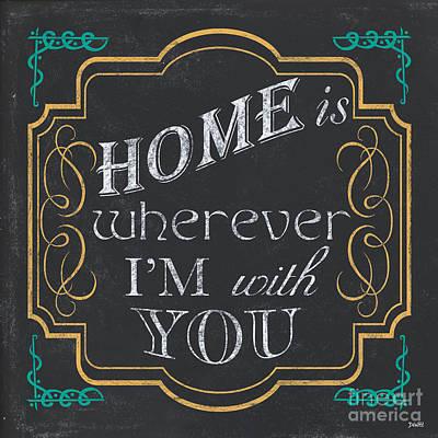 Home Is... Poster by Debbie DeWitt