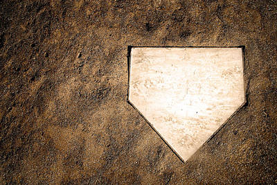 Home Plate Poster by Lane Erickson