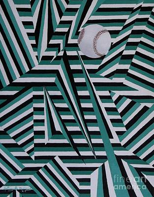 Home Run Poster by Anthony Morris