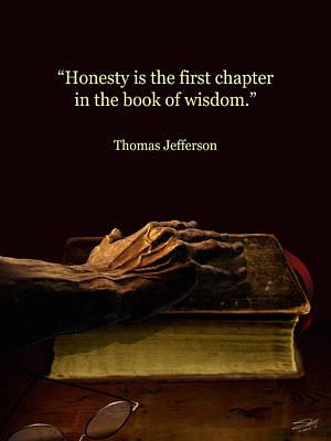 Honesty Poster by Schwartz