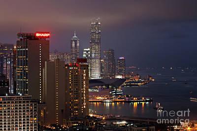 Hong Kong Poster by Lars Ruecker