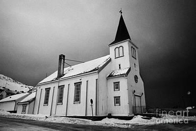 Honningsvag Kirke Church Finnmark Norway Europe Poster by Joe Fox