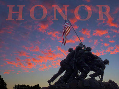 Honor Poster by JC Findley