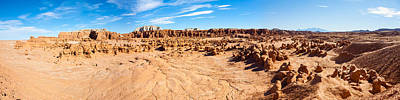 Hoodoo Formations, Goblin Valley Poster by Panoramic Images