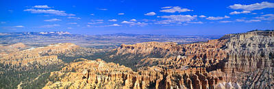 Hoodoos At Sunrise, Bryce Canyon Poster by Panoramic Images