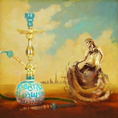 Hookah Bar Poster by Corporate Art Task Force