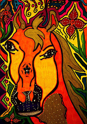 Horse - Animal - Friend Poster by Marie Jamieson