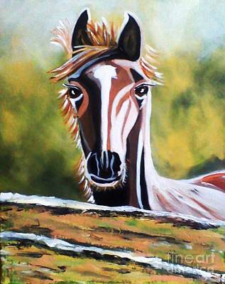 Horse Poster by Jyoti Vats