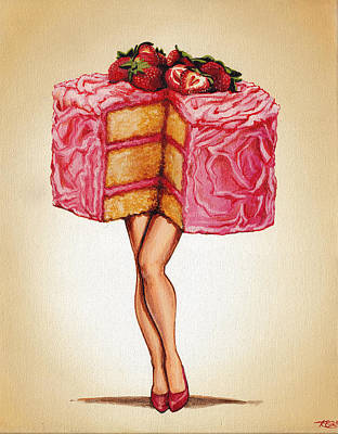 Hot Cakes Poster by Kelly Gilleran