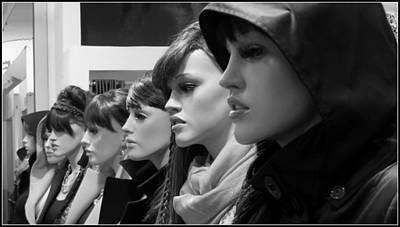 Hot Girls Poster by Daniel Gomez