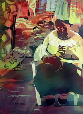 Hot Market Poster by Kris Parins