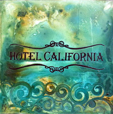 Hotel California Poster by Ivan Guaderrama