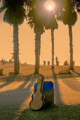 Hotel California Poster by Peter Tellone