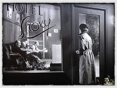 Hotel Roxy Poster by Jim Nelson