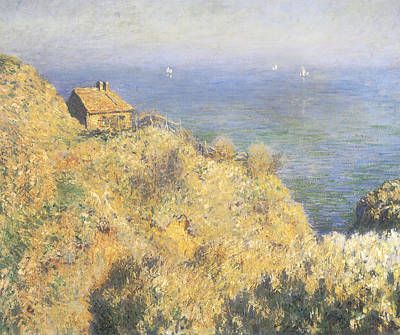 House Of The Fisherman Varengeville Poster by Claude Monet