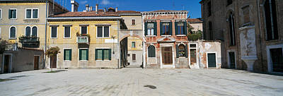 Houses In A Town, Campo Dei Mori Poster by Panoramic Images