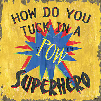 How Do You Tuck... Poster by Debbie DeWitt