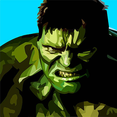 Hulk Poster by Aura Art