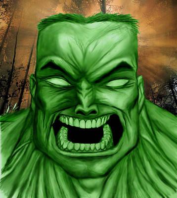 Hulk Poster by Michael Mestas
