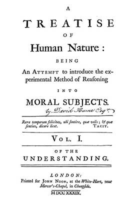 Hume Title Page, 1739 Poster by Granger