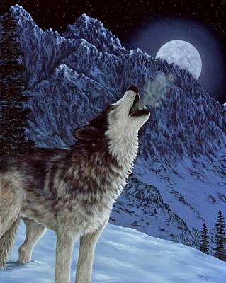 Hunters Moon Poster by Rick Bainbridge