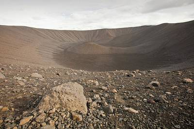 Hverfell Volcanic Cone Poster by Ashley Cooper