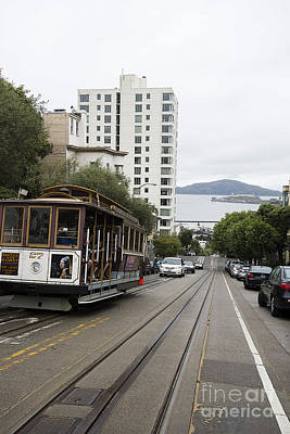 Hyde Street Cable Car Poster by David Bearden