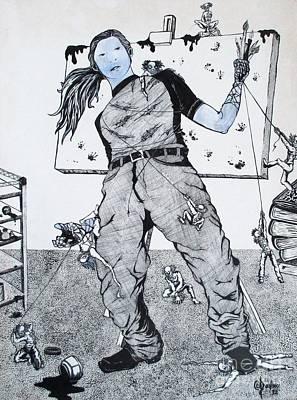 Hysteria Poster by Ani DaVinci