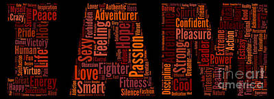 I Am - Version No53 Poster by Pamela Johnson
