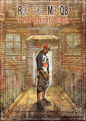 I Am Queensbridge Poster by Tuan HollaBack