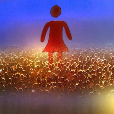 I Am Woman Poster by Patricia Januszkiewicz
