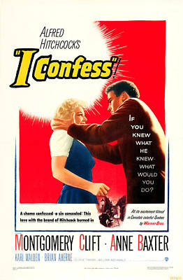 I Confess, Us Poster Art, From Left Poster by Everett