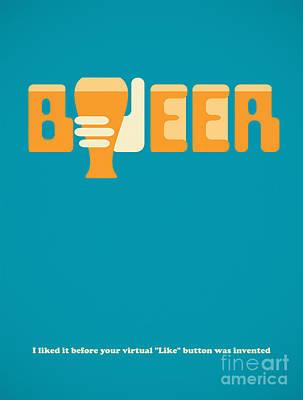 I Like Beer Poster by Igor Kislev