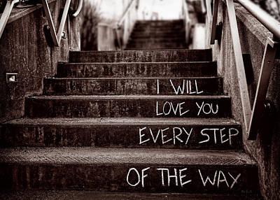 I Will Love You Poster by Bob Orsillo