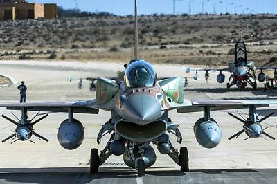 Iaf F-16i Fighter Jet Poster by Photostock-israel