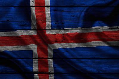 Iceland Poster by Joe Hamilton